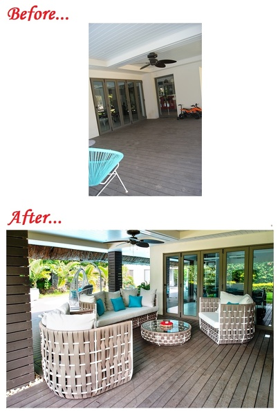 SG186 - Terrace - before-after