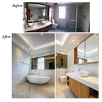 AT310 Bathroom 1 - Before-After